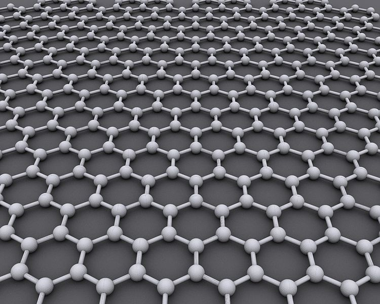 Graphene carbon lattice