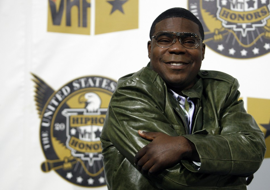 Actor and host of the show Tracy Morgan arrives at the 2008 VH1 Hip Hop Honors event in New York, October 2, 2008.