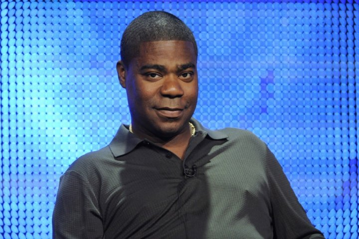 Tracy Morgan participates in the panel for the comedy special during the HBO summer Television Critics Association press tour in Beverly Hills