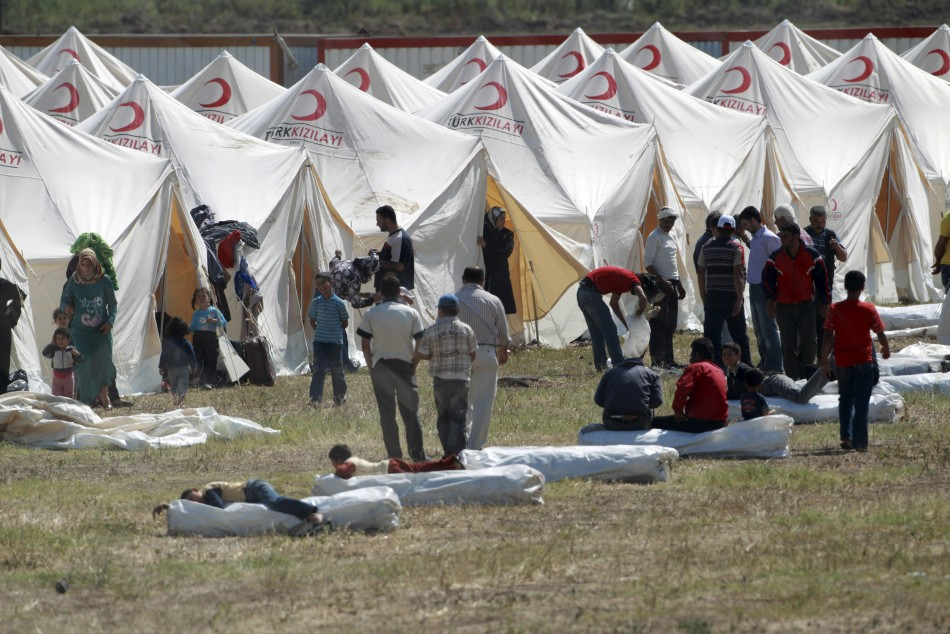 Turkey Syrian refugees