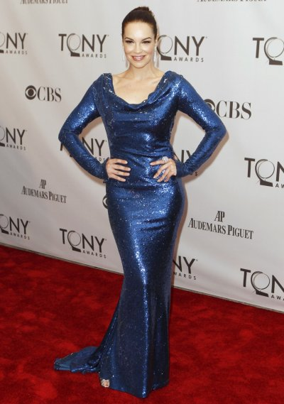 Tammy Blanchard, nominated for best performance by an actress in a featured role in a musical for 039How to Succeed in Business Without Really Trying039, poses during the American Theatre Wing039s 65th annual Tony Awards ceremony in New York, Jun