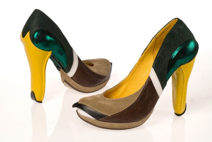 Kobi Levi's animal-inspired high heels