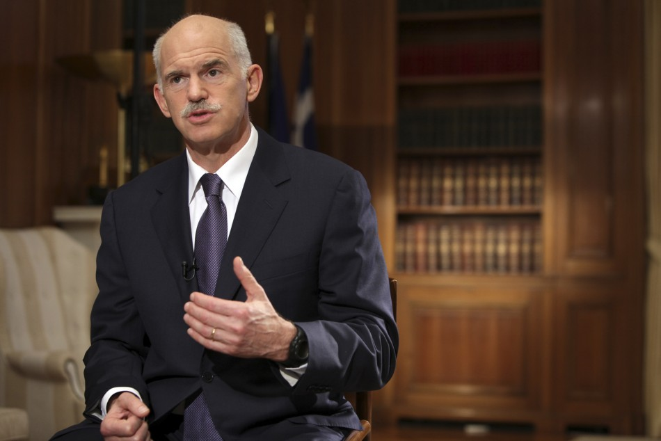 Greece Prime Minister George Papandreou