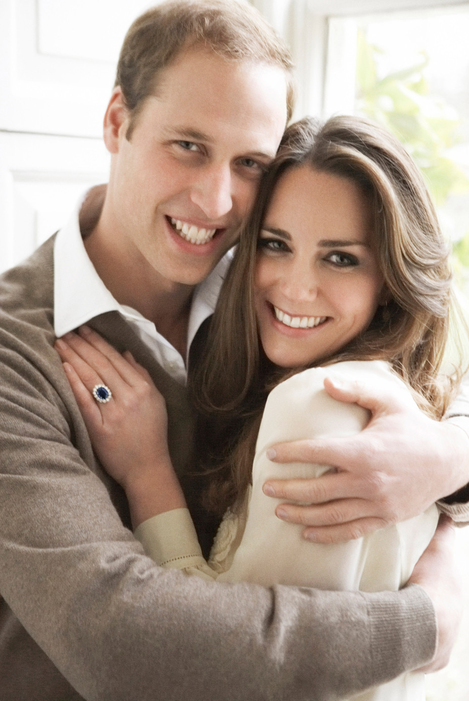 Kate and Prince William's Engagement Picture