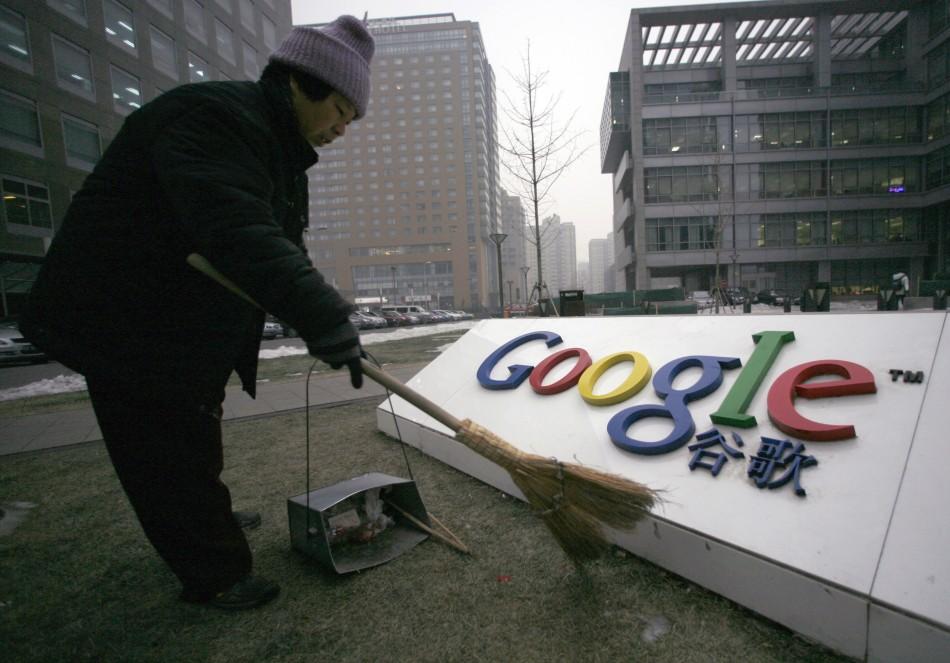 Facebook Google China