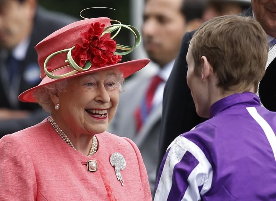 Queen Elizabeth Smiles