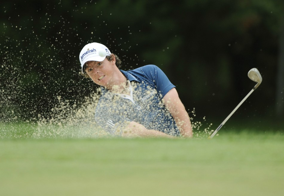 Rory McIlroy takes first round lead at the US Open