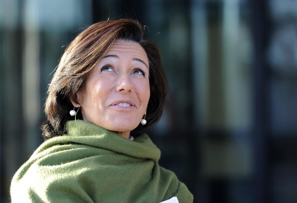 Santander UK chief executive Ana Botin