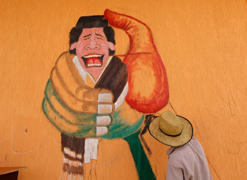 Squeeze Gaddafi