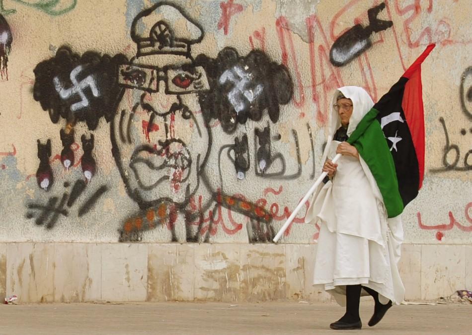 Gaddafi nazi
