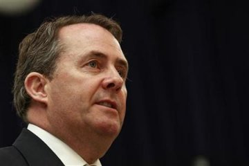 Former British Defence Secretary, Liam Fox.