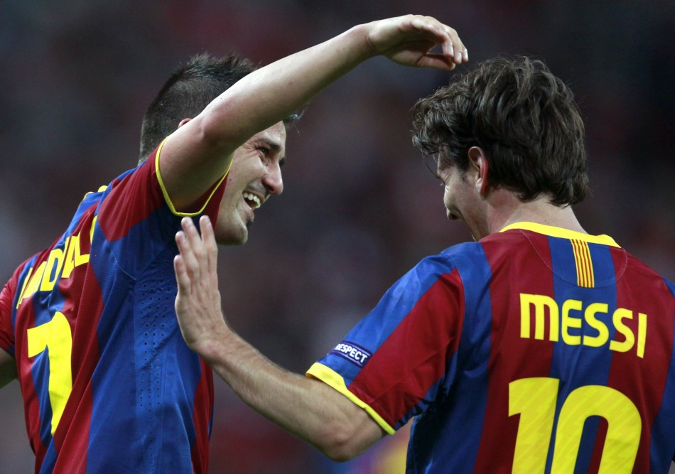 David Villa has quashed rumours saying he would be sold to finance a bid for Arsenal captain Cesc Fabregas.