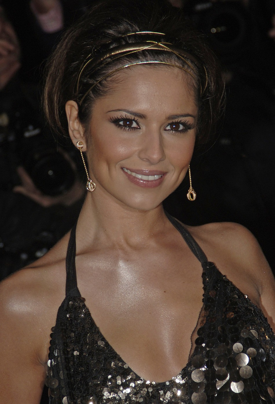 Singer Cheryl Cole from British group Girls Aloud poses at the world premiere of quotSt Triniansquot in London