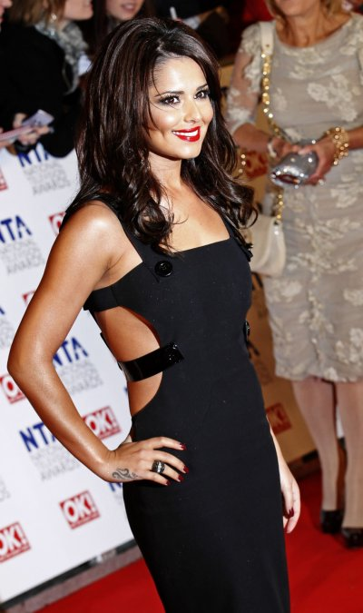 Singer Cheryl Cole attends the National Television Awards at the O2 Arena in London