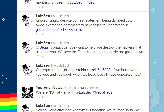 LulzSec promise revenge for Sega