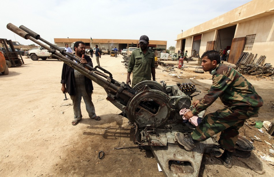 Rebel Army in Libya