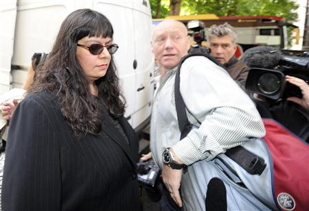 Rita Cleary, the mother of teenager Ryan Cleary, arrives at City of Westminster Magistrates Court in London