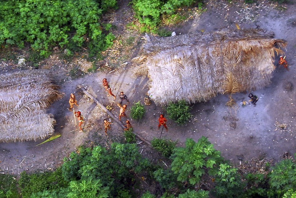 uncontacted amazonian tribe