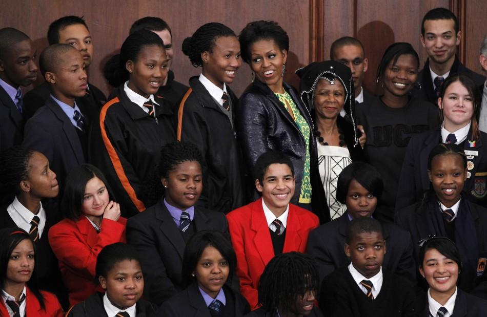 Michelle Obama in Cape Town (3 of 7)