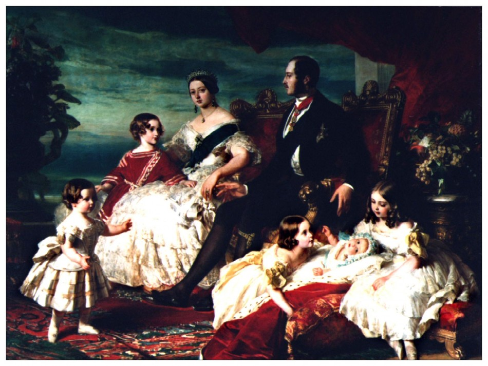 Victoria and Family