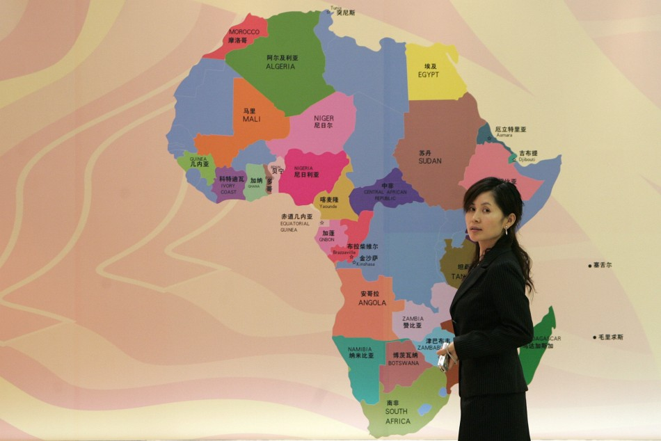 To match feature FINANCIAL-AFRICA/CHINA