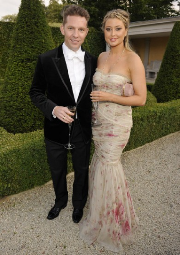 Nick Candy and Holly Valance;