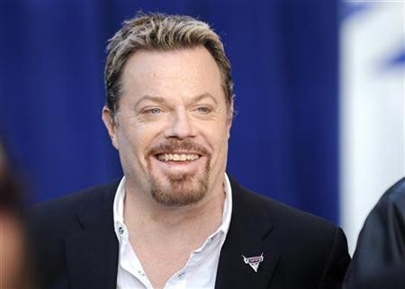 British actor Eddie Izzard, who voices the character of Sir Miles Axlerod in the film '' Cars 2'', arrives at the premiere of the movie in Hollywood, California, June 18, 2011.