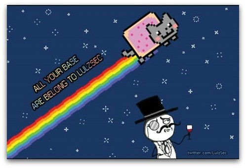 2.	LulzSec take down the CIA