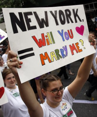 New York Recognizes Same-Sex Marriage