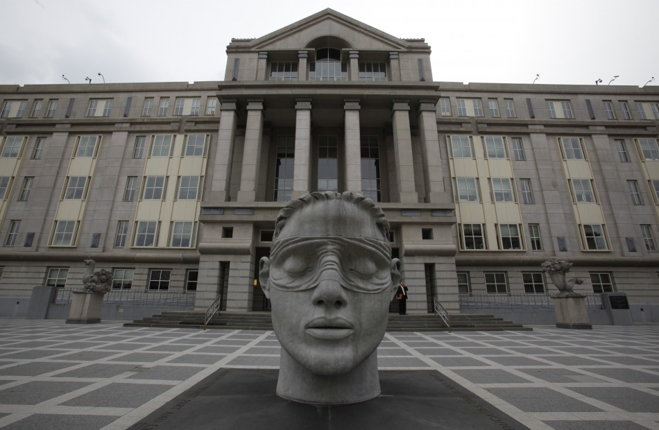 The Martin Luther King Jr. Federal Building and U.S. Courthouse is seen in Newark