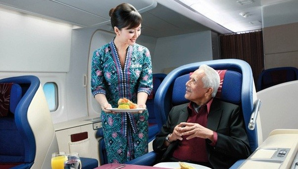 A Malaysia Airlines promotional photo.