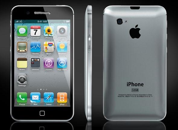 iPhone 5 mockup by Michal Bonikowski