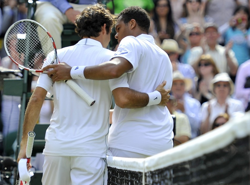 Federer and Tsonga