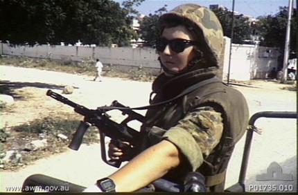 Australian Women Soldiers