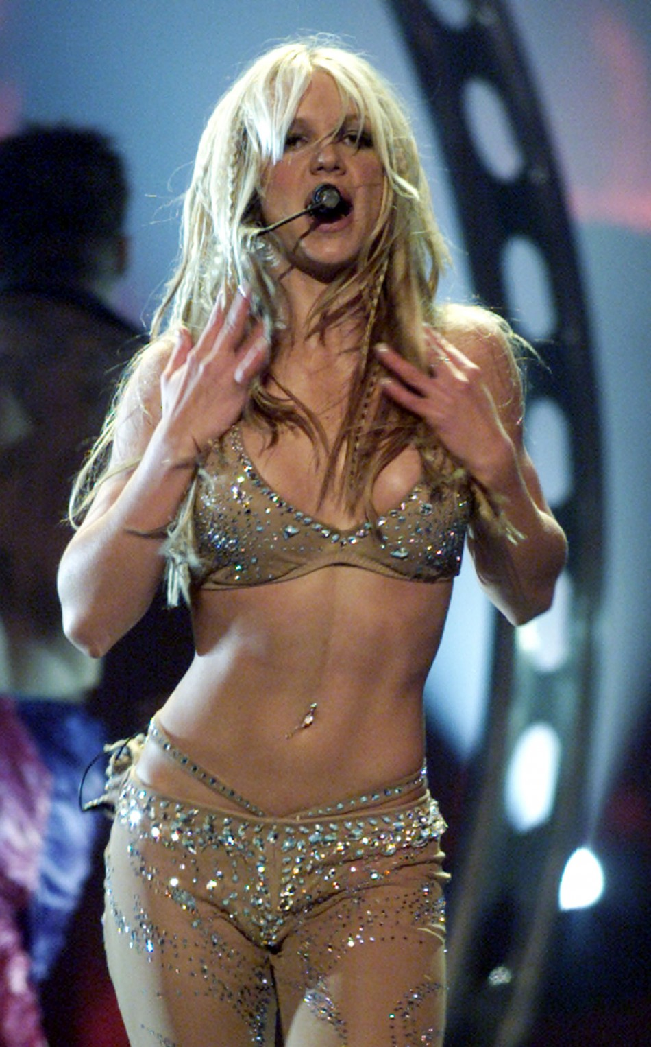 3. Britney Spears  Kanye West tied at 45