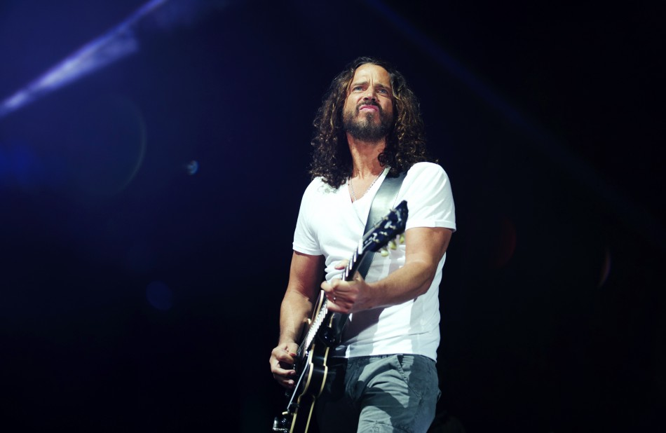 Chris Cornell of Soundgarden performs during their concert in Toronto