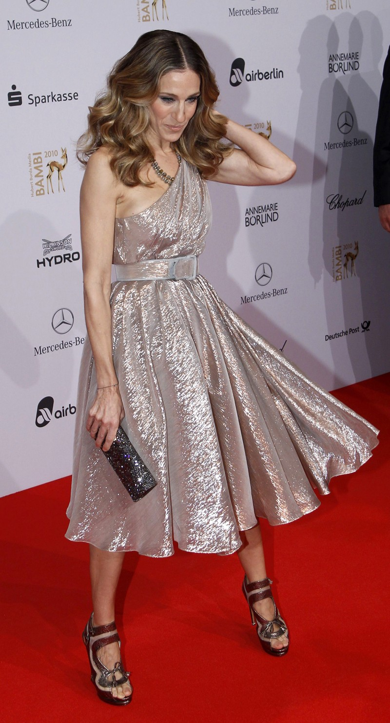 U.S. actress Parker arrives on red carpet for 62nd Bambi media awards ceremony in Potsdam