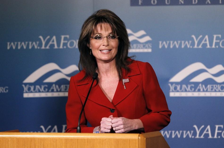 Former Alaska Gov. Sarah Palin