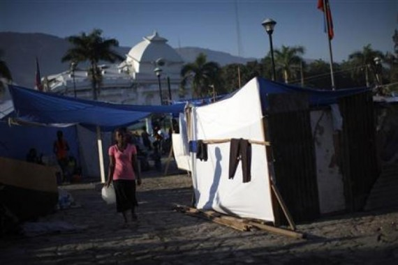 Government reviews work with Oxfam over Haiti prostitute claims