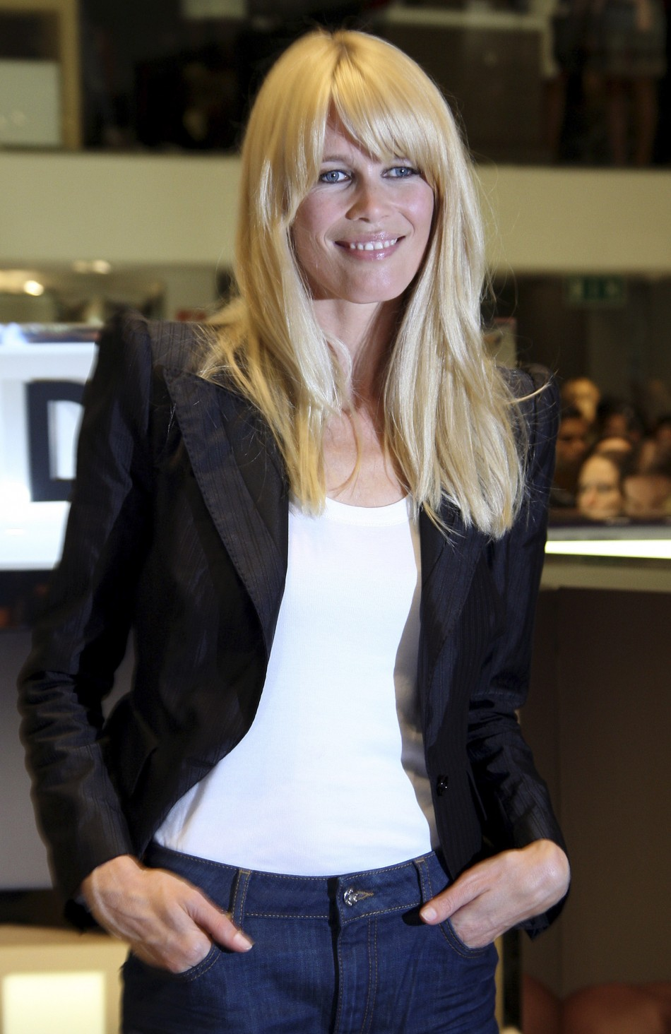 Claudia Schiffer Turns Supermodel Hand To Clothing Line