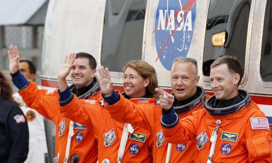 Atlantis, STS-135 crew members