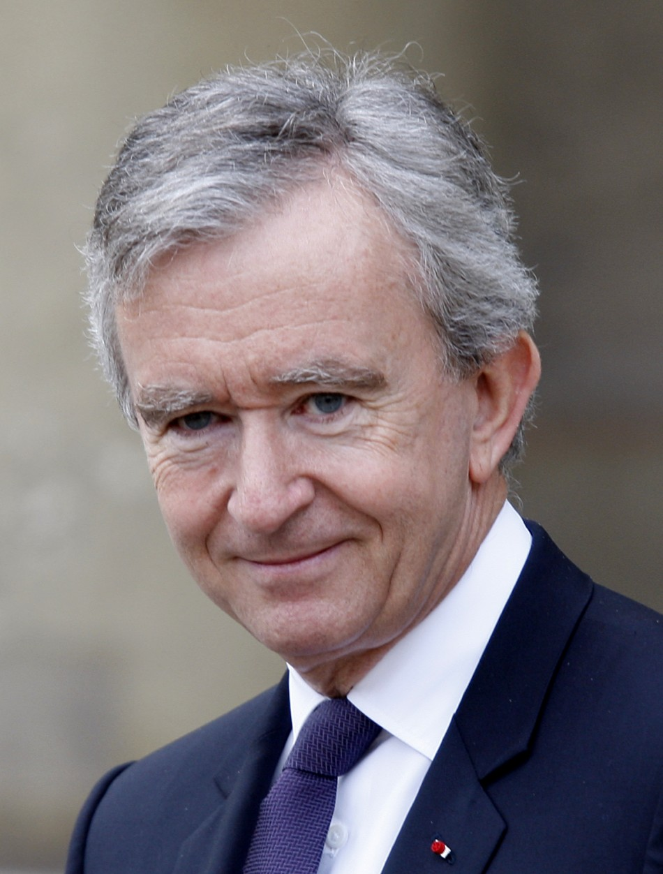 French business tycoon Bernard Arnault is the Chairman & CEO of French conglomerate LVMH.He has been declared Europe's richest man, with net worth estimated at $41 billion as on 2011.