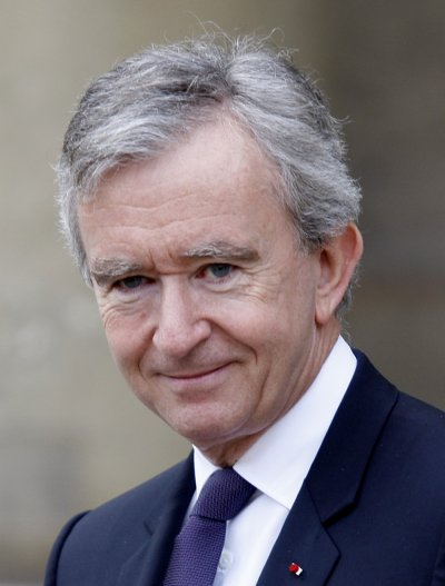French business tycoon Bernard Arnault is the Chairman  CEO of French conglomerate LVMH.He has been declared Europes richest man, with net worth estimated at 41 billion as on 2011.