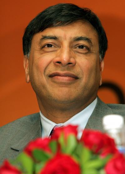 6.Lakshmi Mittal - India