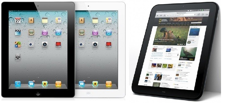 Apple may rule the tablet market throughout 2012