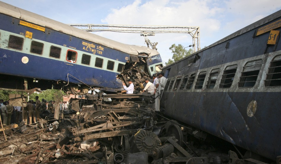 news paper report writing on train accident