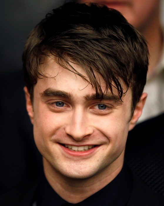 """Cast member Radcliffe arrives for premiere of the film """"Harry Potter and the Deathly Hallows: Part 2"""" in New York"""
