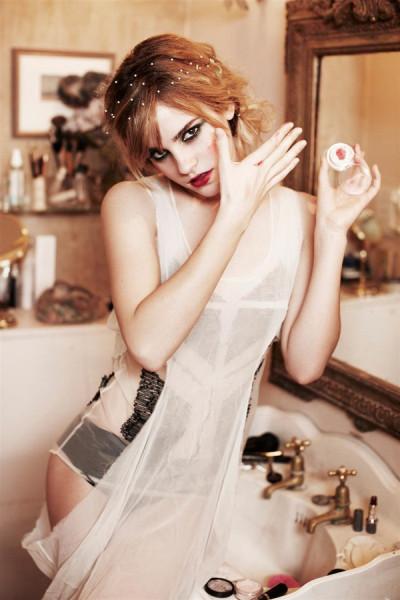 Emma Watson photographed by aEllen von Unwerth