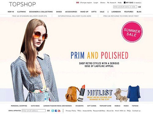 Topshop Codie Young