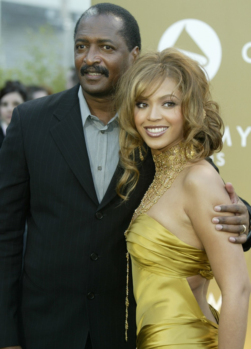 Beyonce Knowles and Mathew Knowles